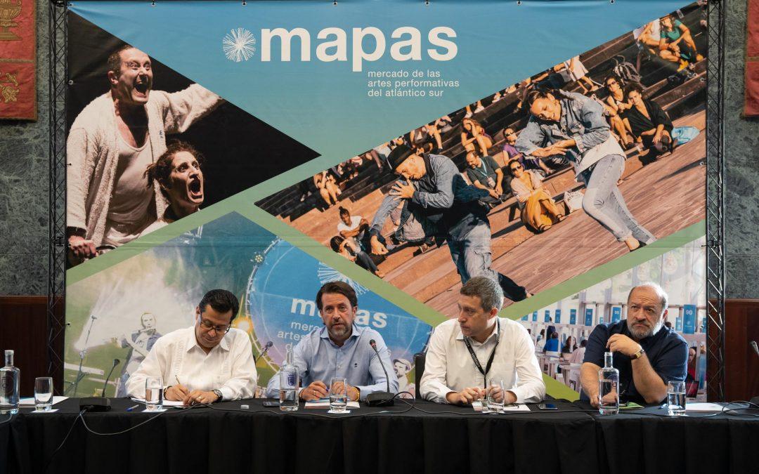 El Cabildo acoge un encuentro internacional para generar sinergias entre redes de artes escénicas